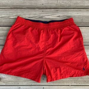 Polo by Ralph Lauren Classic Elastic Swim Trunks